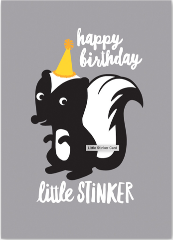 Little Stinker Card