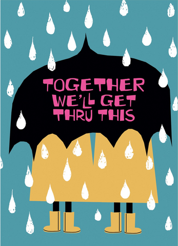 Umbrella for Two Card