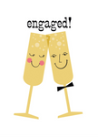 Engagement Toasts Card