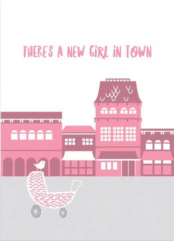 New Girl in Town Card