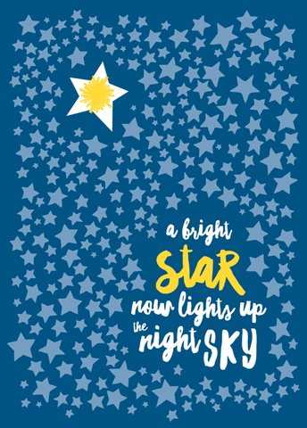 Bright Star Card
