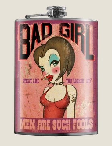 Bad Girl Flask