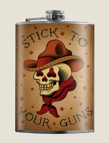 Stick to Your Guns Flask