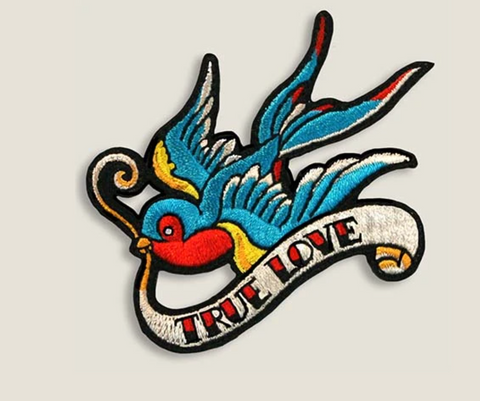 Tattoo Swallow Patch