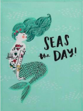Seas the Day Kitchen Towels, Set of 2