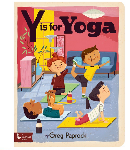 Y is for Yoga Book