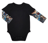 Black Tattoo Ink Onesie