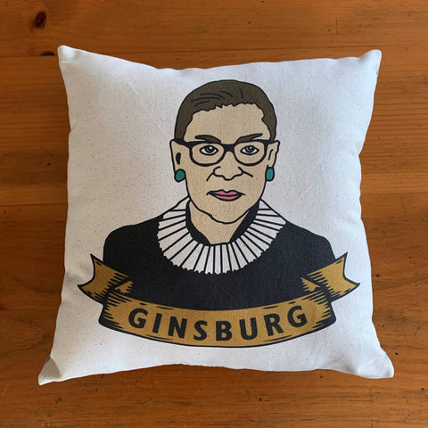 Notorious RBG - Ruth Bader Ginsburg Pillow