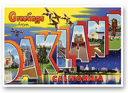 Greetings From Oakland Card