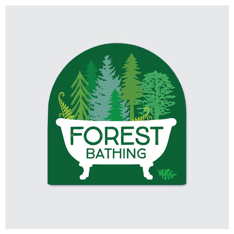Forest Bathing Sticker
