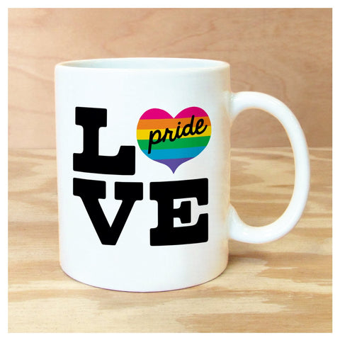 Love & Pride Boxed Mug