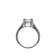 Load image into Gallery viewer, 1.57 Radiant Cut Diamond Split Shank Engagement Ring