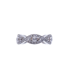 Load image into Gallery viewer, Infinity Diamond Fashion Ring or Wedding Band