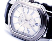 Load image into Gallery viewer, Tiffany & Co. Stainless Steel Marc Coupe Watch