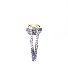 Load image into Gallery viewer, 18 Kt White Gold Semi-Mount Engagement Ring