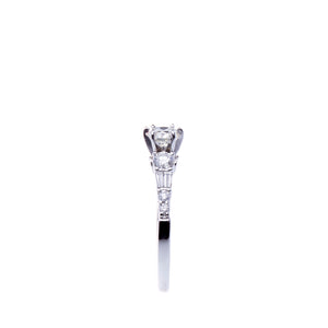 Beautiful and Elegant 0.60 CTW Round Brilliant Engagement Ring