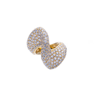 18Kt Yellow Gold 5.85Ct Diamond Fashion Ring