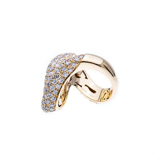 18Kt Yellow Gold 5.85CTW Diamond Fashion Ring