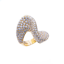 Load image into Gallery viewer, 18Kt Yellow Gold 5.85CTW Diamond Fashion Ring