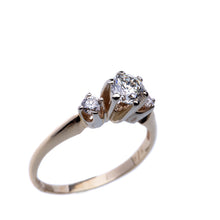 Load image into Gallery viewer, Stunning Three-Stone Diamond Engagement Ring