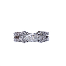 Load image into Gallery viewer, Beautiful Marquise Split Shank Diamond Engagement Ring
