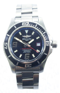 SOLD! Mens Breitling Superocean Chronometer Watch
