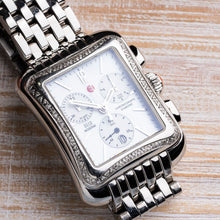 Load image into Gallery viewer, Michele Deco Moderne II Diamond Chronograph Watch