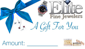 Elite Fine Jewelers' Gift Cards