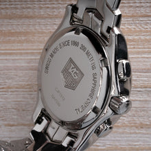 Load image into Gallery viewer, TAG Heuer Link Mother of Pearl Dial with Diamond Hour Markers