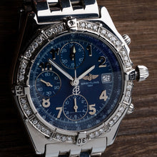 Load image into Gallery viewer, Breitling Chronomat With Diamond Bezel