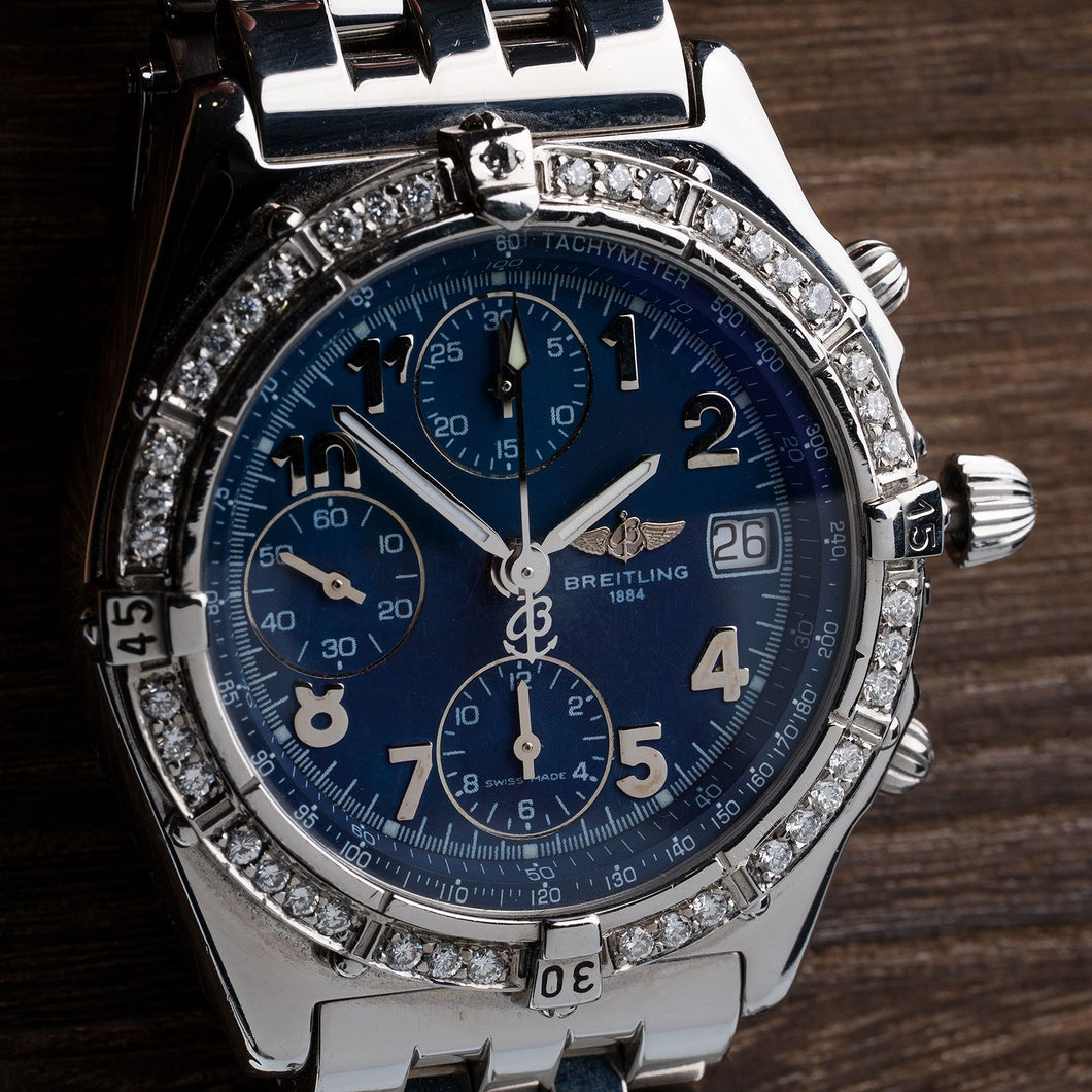 Breitling Chronomat With Diamond Bezel