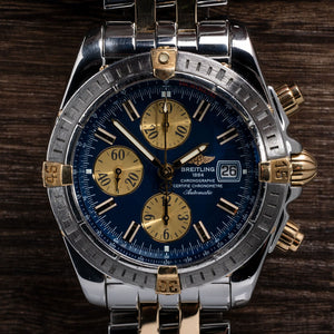Breitling Chronomat Evolution Two-tone 18Kt Watch