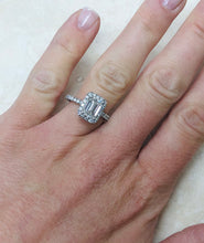 Load image into Gallery viewer, Stunning 1.50 Carat VVS Emerald Cut Diamond Engagement Ring