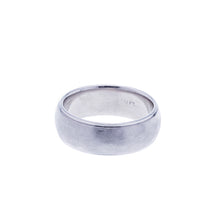Load image into Gallery viewer, Mens Platinum Brush Finish Wedding Band