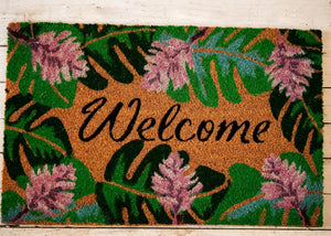 Botanical Door Mat