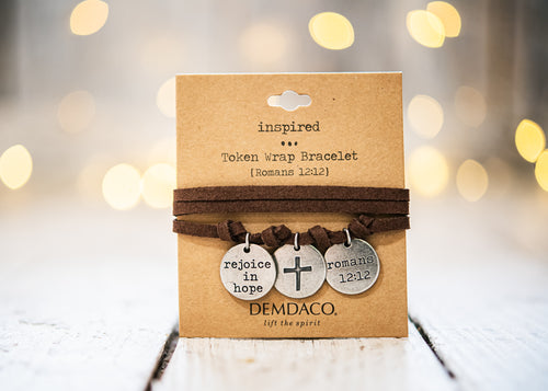 Rejoice Token Wrapped Bracelet