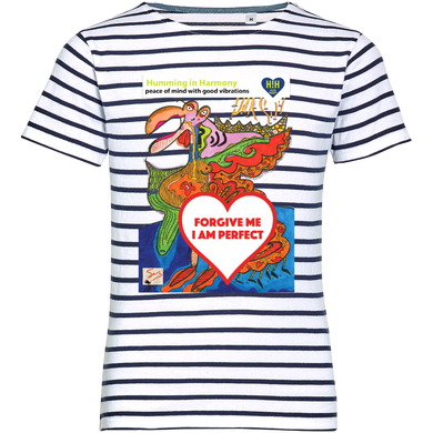 Forgive: Striped T-shirt