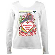 Load image into Gallery viewer, Touch: Women's long sleeve t-shirt