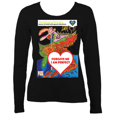 Forgive:Women's long sleeve t-shirt
