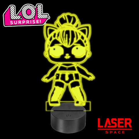 Lampada Led LOL Surprise Kitty