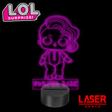 Lampada Led LOL Surprise Surfer