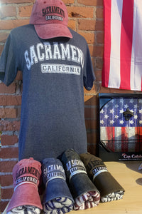 Sacramento California T-Shirt and Hat Combo