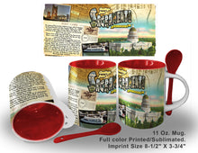 Load image into Gallery viewer, HISTORY Mugs Sacramento Printed