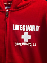 Load image into Gallery viewer, Lifeguard - Zipper Hoodie Sacramento Print