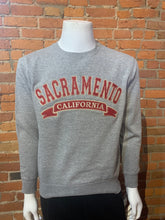 Load image into Gallery viewer, Sacramento California Embroided Crewneck Sweater