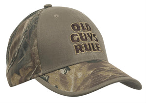 Old Guys Rule - Camo Panels Hat - OG975