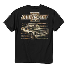 Load image into Gallery viewer, BW - Chevy Camo Flag T-Shirt
