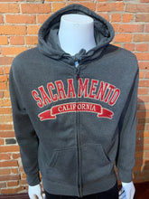 Load image into Gallery viewer, Hoodie zip up SACRAMENTO