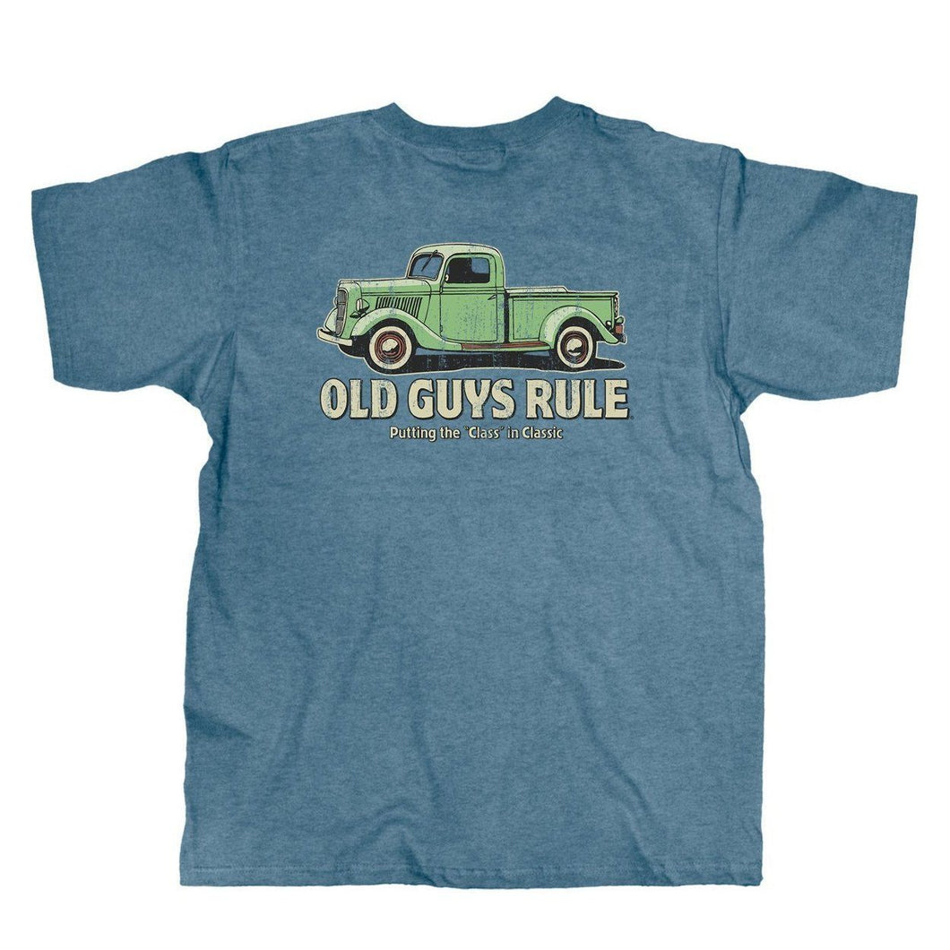 Old Guys Rule - Classic Truck T-Shirt - OG1093
