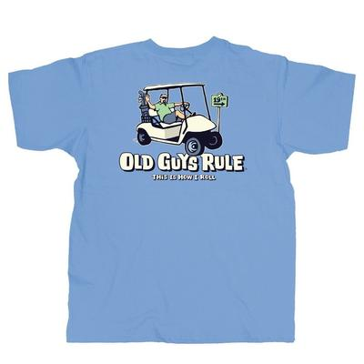 Old Guys Rule - How I Roll T-Shirt  - OG999